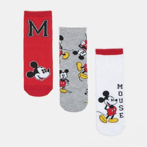 Sinsay - 3 pack skarpet Mickey Mouse - Wielobarwny 19.99PLN