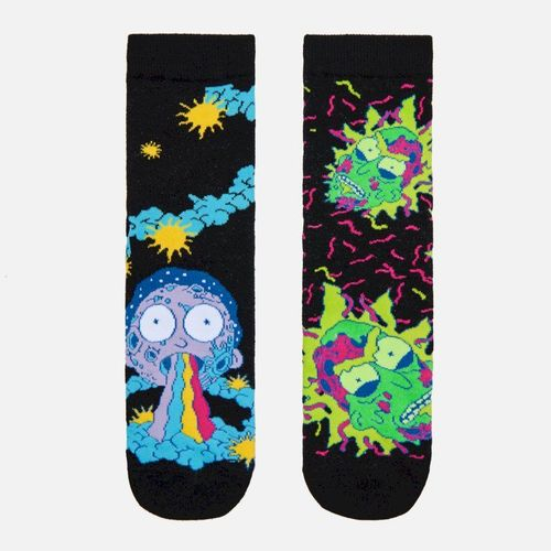 Cropp - 2 pack skarpetek Rick and Morty - Czarny 29.99PLN