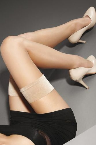 Cienkie Pończochy Exclusive Make-Up Hold-Ups 10 Lux Line Marilyn 34.90PLN