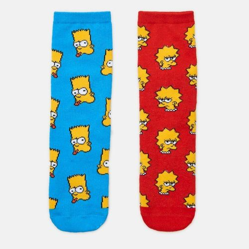 Cropp - 2 pack skarpet The Simpsons - Wielobarwny 29.99PLN